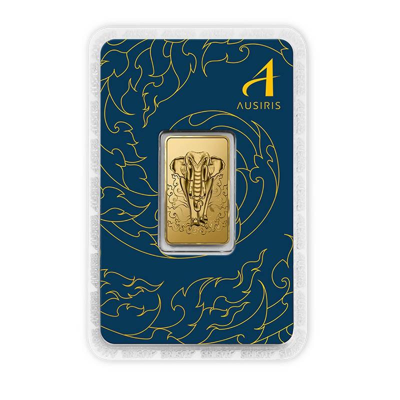 ทองคำแท่ง 1 บาท ลายพญาคชสาร