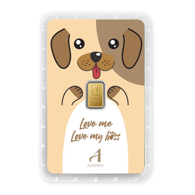 ทองคำแท่ง 1 กรัม Lucky the Dog (Lucky in Love)
