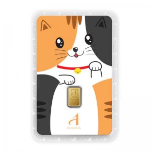 ทองคำแท่ง 1 กรัม Money the Cat (Lucky in Game)