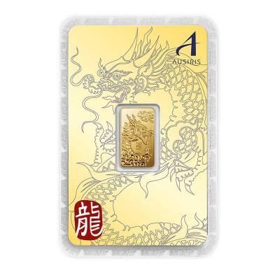 ทองคำแท่ง 1 สลึง ลายมังกร การ์ดทอง