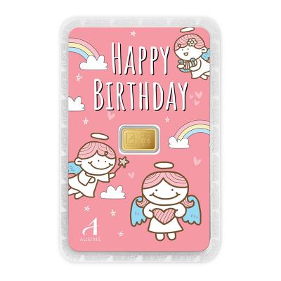 ทองคำแท่ง 0.6 กรัม Happy Birthday Little Angel