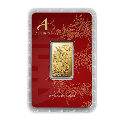 ทองคำแท่ง 1 บาท ลายมังกร พลังแห่งพรหมลิขิต
