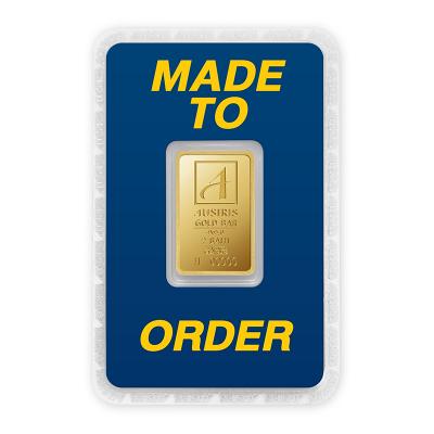 ทองคำแท่ง 2 บาท ทองลายโลโก้ สั่งทำการ์ด Custom Card