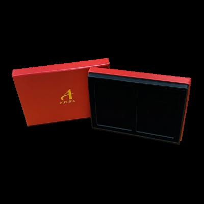กล่องใส่ทองคำแท่งคู่ สีแดง
