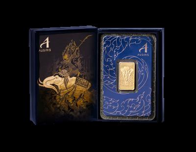 กล่องใส่่ทอง ชุดช้างศึก