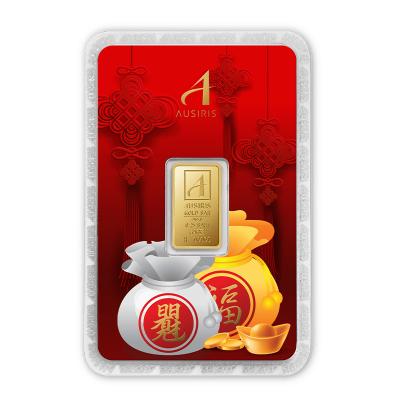 ทองคำแท่ง 1 สลึง ถุงเงินถุงทองมั่งมี