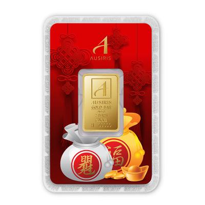 ทองคำแท่ง 2 บาท ถุงเงินถุงทองมั่งมี