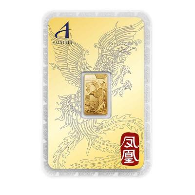 ทองคำแท่ง 1 สลึง ลายหงส์ การ์ดทอง